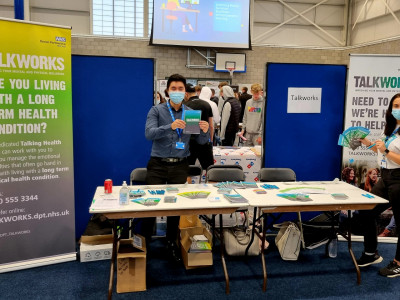 TALKWORKS attend Exeter College Re-Freshers Fair